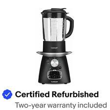 Cuisinart SBC-1000FR Blend & Cook Soup Maker Black - Refurbished