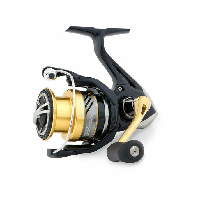 Shimano Front Nasci 3000 FB HG Front Shimano Drag Fixed Spool Coarse Fishing Reel 5d2a38