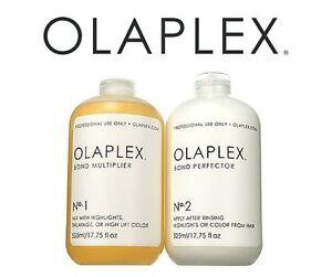 Olaplex-No-1-amp-No-2-30-60ml-2-x-Super-Salon-Service-Damaged-Over-Processed-Hair