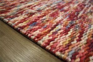 Tapis-design-160x230-cm-100-laine-tisse-a-la-main-rouge-bleu-mouchete