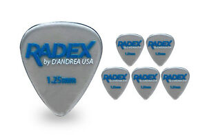 Constructif D'andrea Radex Rdx 351 Forme 1.00 Mm Guitar Picks 6 Pack 2018 Smoke-afficher Le Titre D'origine