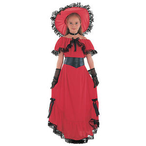 #scarlet O 'hara Enfant Histoire Livre Semaine Fancy Dress Celebrity Toutes Tailles