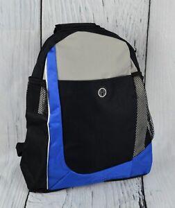 Dreamworks Minions Drawstring Theme Park Tote Bag School Backpack Gym Bag Blue