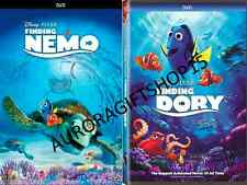 2 DVD SET- Finding NEMO (2003) & FINDING DORY(2016) - NOW SHIPPING!!