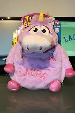 Tummy Stuffer - LILAC UNICORN  **PERSONALIZED** As Seen On TV   **New** MUST SEE