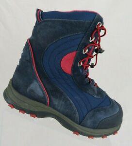 L-L-BEAN-Waterproof-Blue-Sz-5-Kids-Snow-Winter-Boots