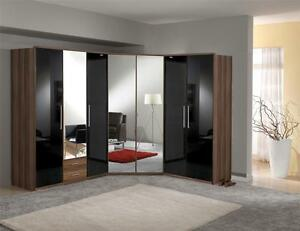 bedroom furniture black gloss. image is loading dresden-shiny-black-gloss-wardrobes-chest-of-drawers- bedroom furniture black gloss o