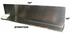 Draft Beer Tower Wall Mt Drip Tray 76 L Ss Grill Drain Dtwm76ss