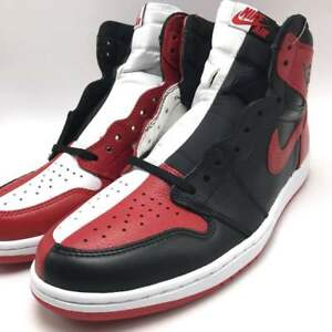 Nike Air Jordan 1 Retro High OG NRG Black Red-White 861428-061  37a9b8356