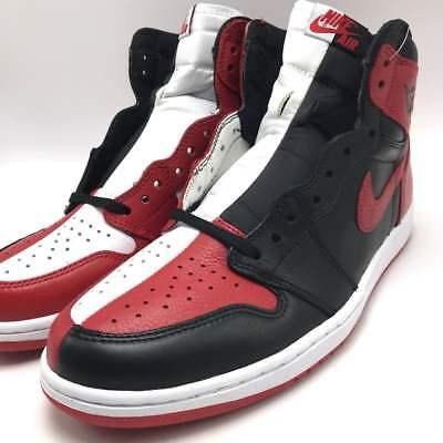 competitive price 43b9e db0af Nike Air Jordan 1 Retro High OG NRG Black/Red-White 861428-061 | eBay