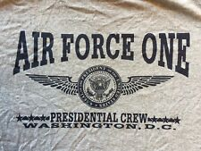 M gray AIR FORCE ONE PRESIDENTIAL CREW WASHINGTON, DC t-shirt by DELTA