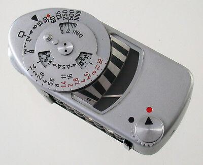 Belichtungsmesser Leitz Leica Meter Mc Metra 14200 Exposure Belichtungsmesser Weak As Is /18 Festsetzung Der Preise Nach ProduktqualitäT