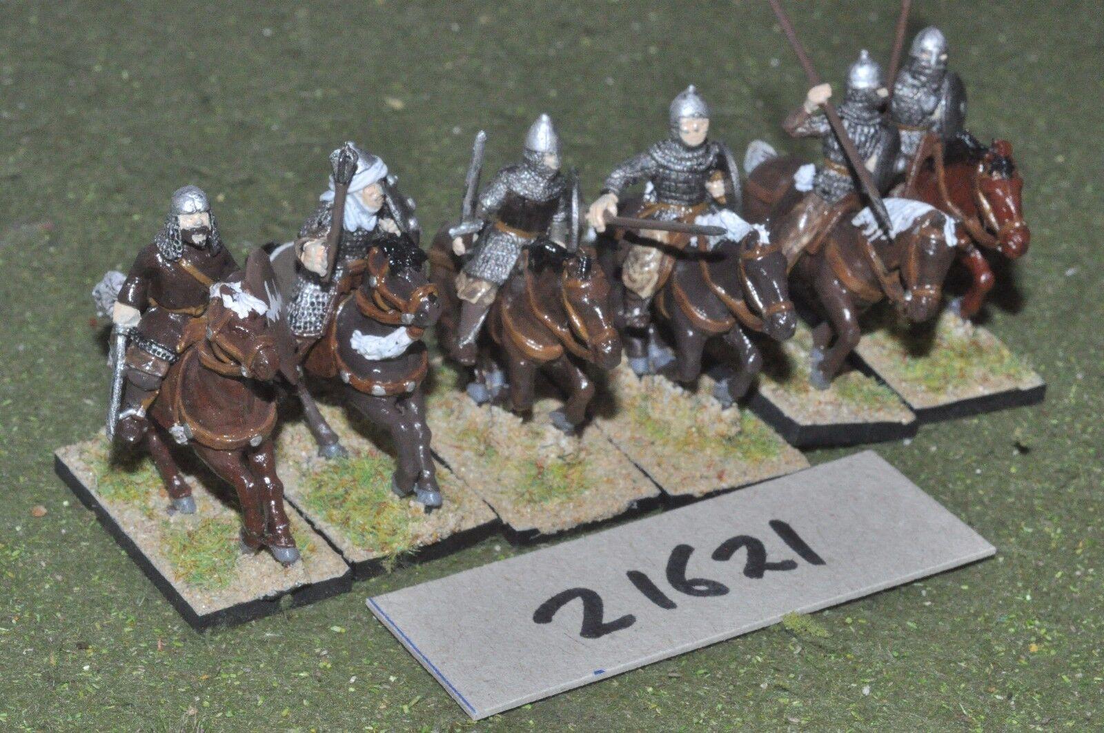25mm medieval   spanish - 12 moorish cavalry - cav (21621)