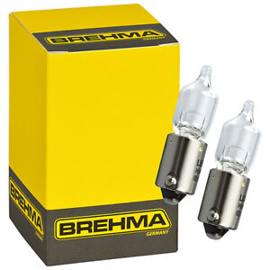 10x BREHMA H5W 12V 5W Halogen Innenraumbeleuchtung Ba9s Leselampe Handschuhfach
