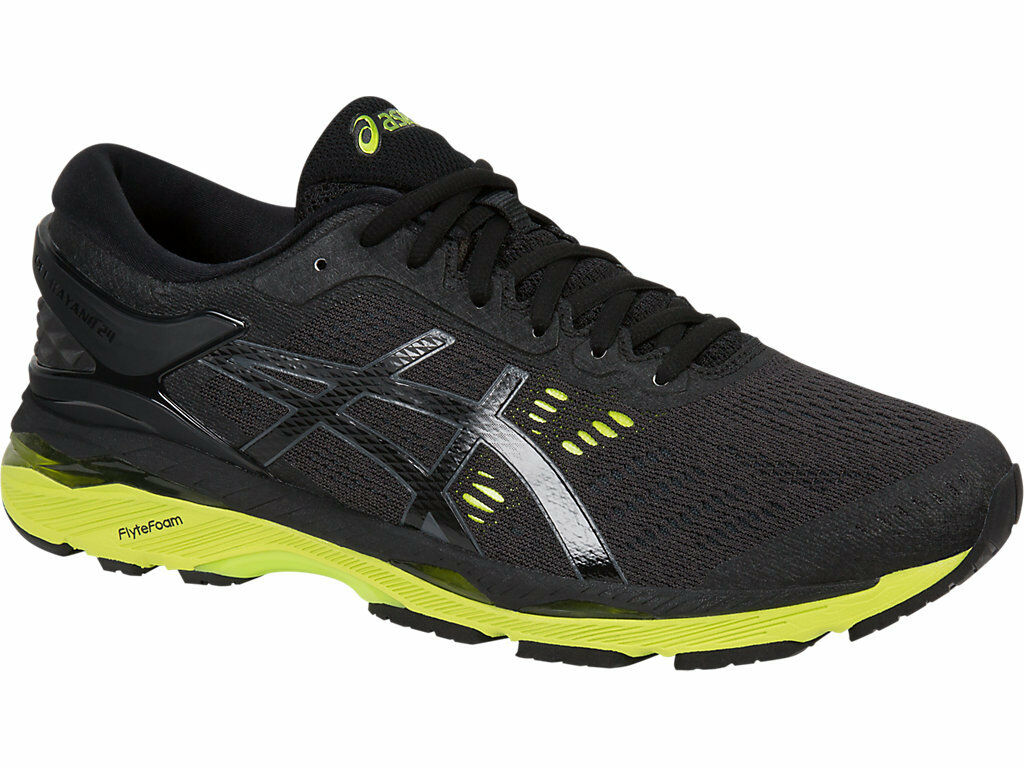 [asics] GEL-KAYANO 24 2E Black Wide Men's Running Shoes T7A0N.9085 US 6.5 - 14