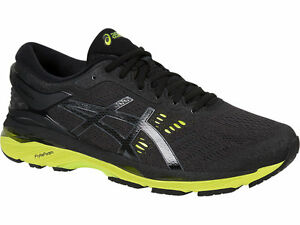 6c0e23dbfd96 asics  GEL-KAYANO 24 2E Black Wide Men s Running Shoes T7A0N.9085 US ...