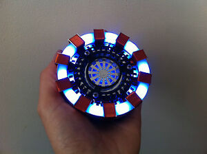 IRON MAN Tony Stark ARC REACTOR Wearable Prop Replica