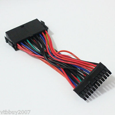 Standard ATX 20Pin to mini 24Pin Male conveter PSU power cable For HP computer