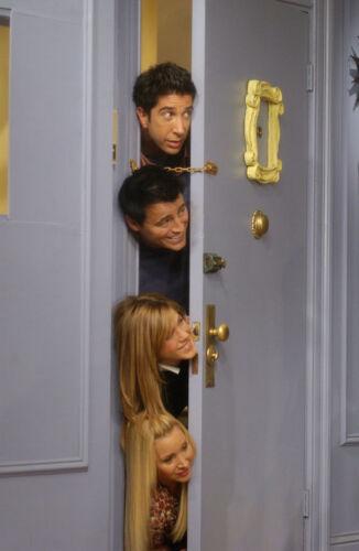 TV Series Friends Handmade Yellow Mon Door Peephole Image Picture Photo Frame #0