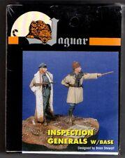 JAGUAR MODELS 63051 - INSPECTION GENERALS w/BASE -1/35 RESIN KIT