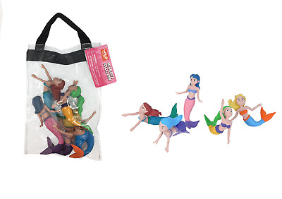 Wild Republic Large Polybag Mermaids Sea Life Play Set toy Figurines