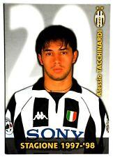 Cartoncino Juventus 1997/98 – Alessio Tacchinardi