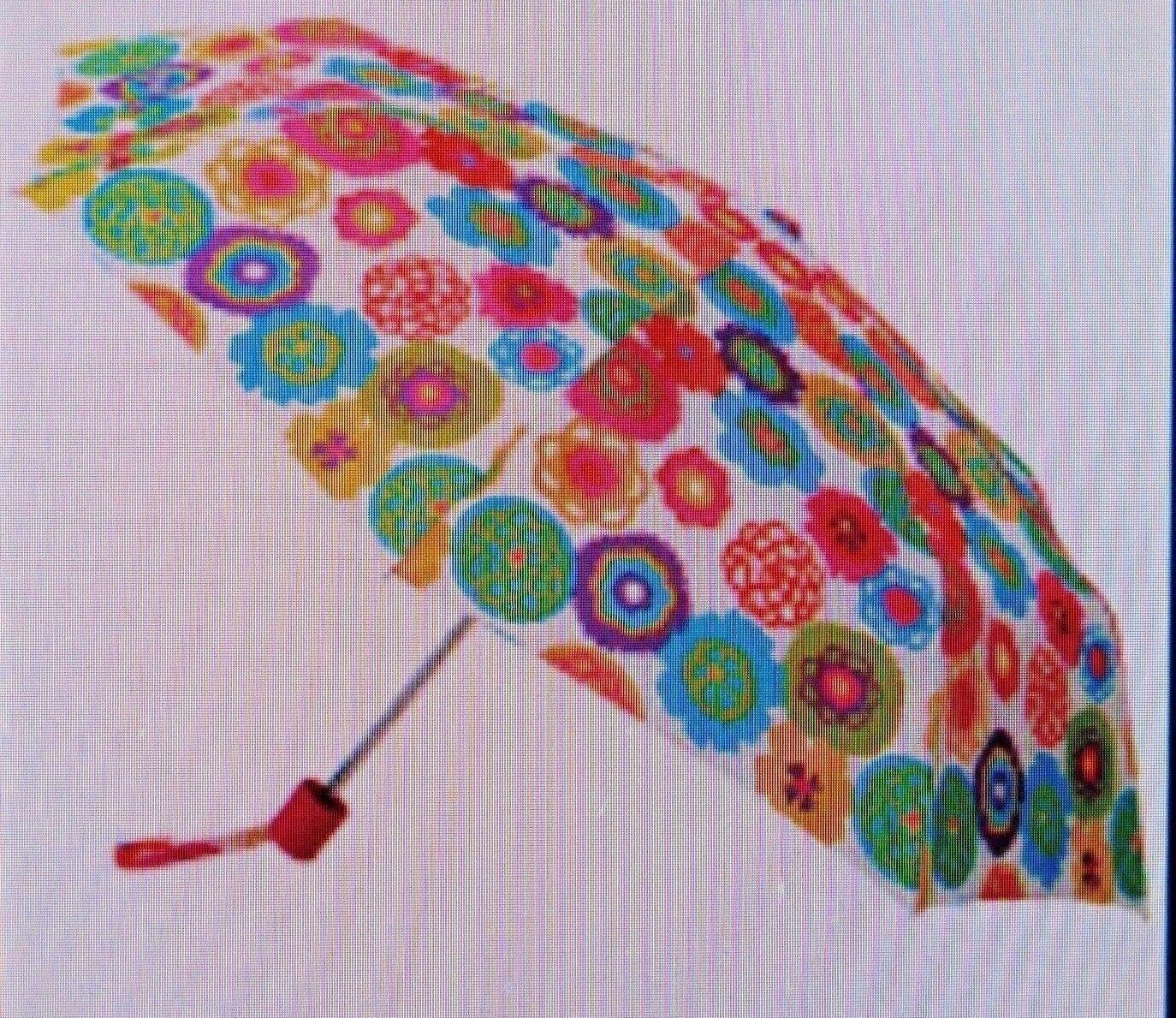 Rare New/Sealed Avon Cynthia Rowley Discontinued Fun Floral Umbrella w/Cover