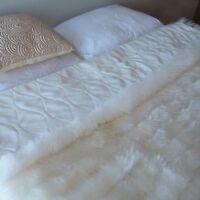 Bowron Sheepskin Rugs Bowron Accessories Lambskin Minx Wool Throw on Sale