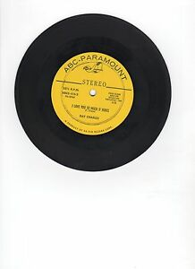 RAY-CHARLES-I-Love-You-Tres-Much-IT-HURTS-Half-comme-Much-17-8cm-stereo-33