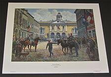 Mort Kunstler - Guns of Autumn - Collectible Civil War Print