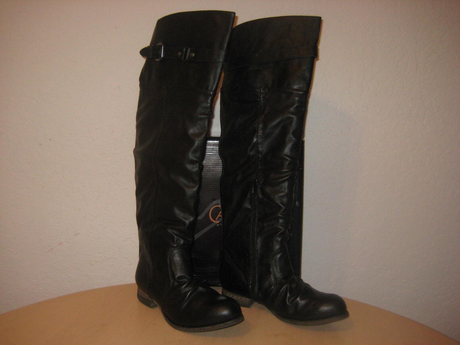 Carlos By Carlos Santana New Womens Traverse Black Vintage Boots 7.5 M Shoes NWB