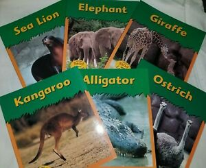 Zoo-Animal-Series-Lot-6-Heinemann-Read-and-Learn-Science-Animals-Set-Library