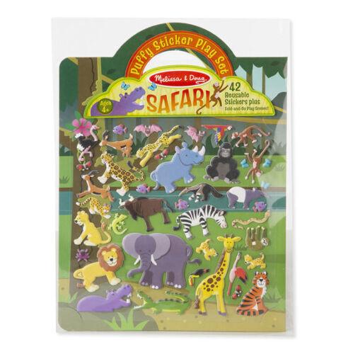 Puffy Stickers Play Set NEW!! Melissa and Doug 19106 Safari