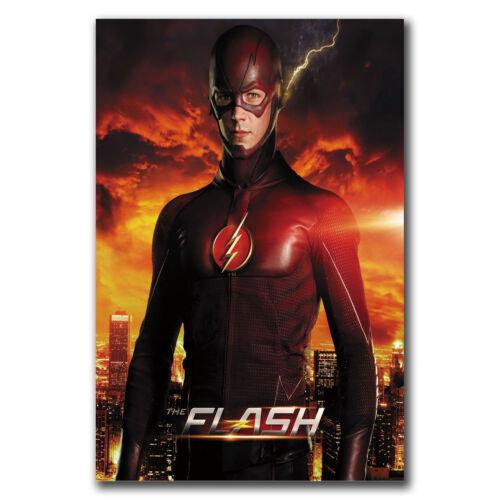 24x36 40inch E2840 Art The Flash Season 2 US TV Series Poster Hot Gift