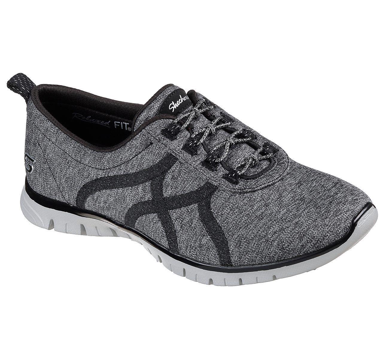 Nuevo señora Skechers zapatillas zapatillas ez Flex renew-Bright renew-Bright renew-Bright Days negro  ventas al por mayor