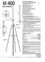 Workman Starduster M400 Home Cb Base Antenna M-400