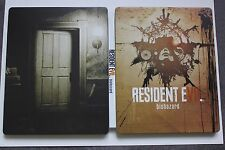 RESIDENT EVIL 7 BIOHAZARD RARE METAL STEELBOOK COLLECTORS CASE XBOX ONE PS4 PC