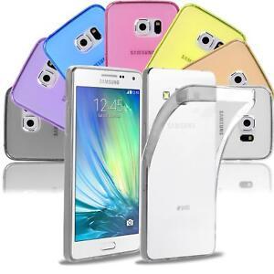 Samsung-Galaxy-A3-2015-Thin-Silicone-Clear-Case-Cover-Ultra-Slim-Shockproof-Gel