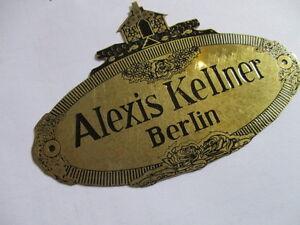 Panneau Type Panneau Alexis Serveur Berlin Karosseriebau S25 Plaque 2 Llh4lwvj-07215524-279060380