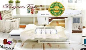 Husqvarna-Viking-Topaz-25-Sewing-Quilting-amp-Embroidery-Machine-Brand-NEW