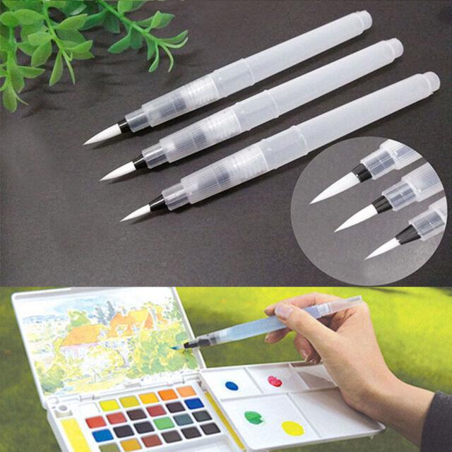 3pcs Pilot Ink Pen for Water Brush Watercolor Calligraphy Painting Tool Set GoIJ