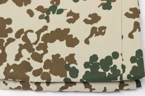 Camouflage Stoff Meterware Tarndruck Tarnmuster Flecktarn Militär Tarnstoff NATO