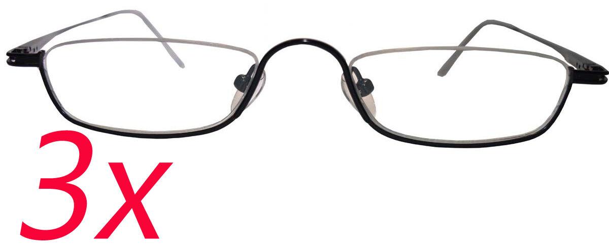 3x OPDO Brillengestell, Mod. 8094-3, ultra leicht, Brille ...