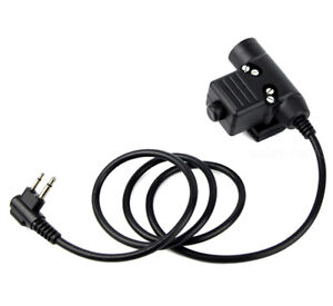 Z-Tactical-HD01-HD03-Headset-U94-PTT-For-MOTOROLA-GP88S-EP450-GP300-WalkieTalkie