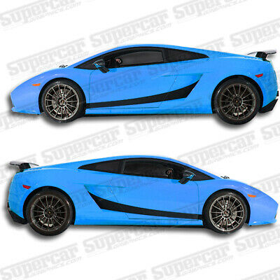 Version 1 Lamborghini Gallardo Stripe Decal Kit SuperCar Graphics