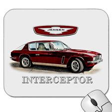 JENSEN  INTERCEPTOR   CHRYSLER  V8        MOUSE PAD