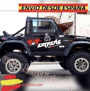 Kit-Laterales-Vinilos-Pegatinas-Decal-Stickers-Coche-4x4-Suzuki-Samurai-Extreme