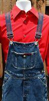 VTG 90s RARE TOMMY HILFIGER OVERALLS bib Jeans Denim Logo Mens S Womens L