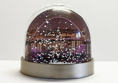 Snow Globe of Newcastle Gateshead Quayside and Millennium Bridge,snow shaker