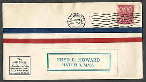 DATED 1927 COVER ST THOMAS VI COMMERCIAL AIR MAIL SCARCE